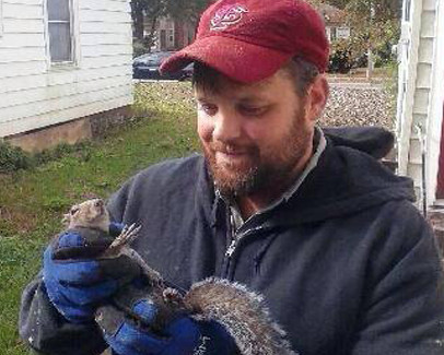 Trapping squirrels can be a nightmare- Call Black Thumb Wildlife in Tallahassee, FL for help!